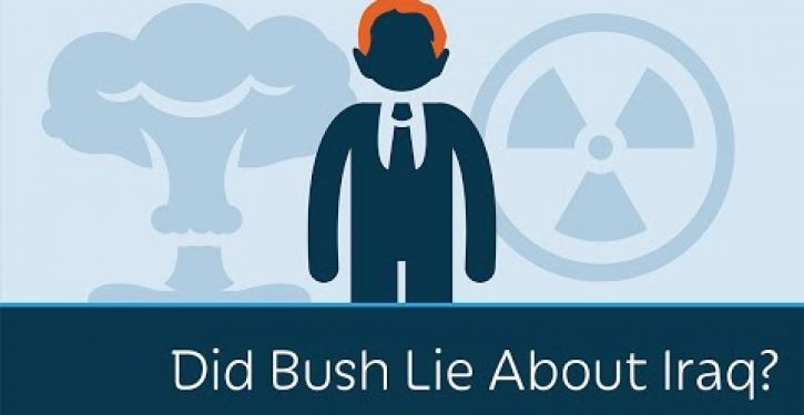 Video: Prager U asks whether Bush lied about WMDs in Iraq