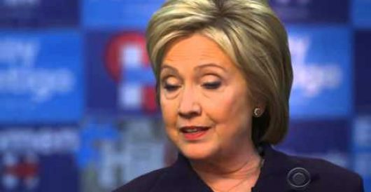 Clinton can't say she's always been honest with the American people by Rusty Weiss