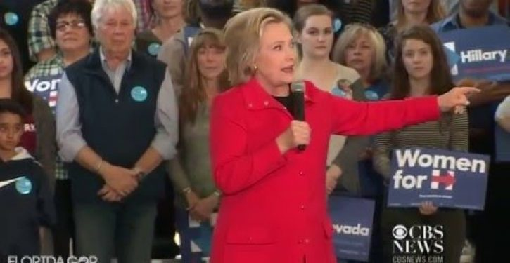 Another day, another Hillary lie, this time about her fierce lifelong loyalty to the Democratic party