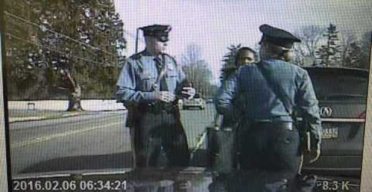 Dashcam video of arrest of Princeton professor who cried racism tells different story