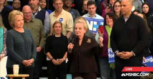 Hillary defends Madeleine Albright for 'special place in hell for women who don't support her' remark by Howard Portnoy