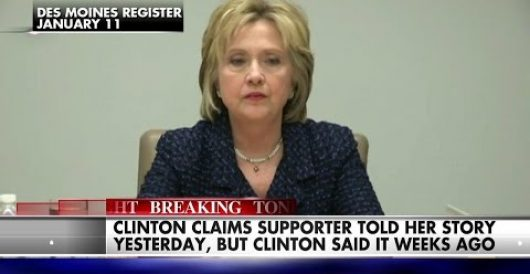 Hillary's latest lie will leave you shaking your head by Rusty Weiss