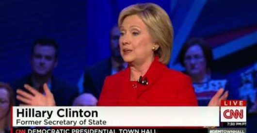 Watch millennial tell Hillary she's dishonest on live television by Deneen Borelli