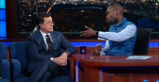 Stephen Colbert demonstrates how easy it is to check your privilege by Ben Bowles