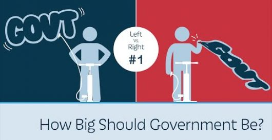 Video: Left v. Right: How big should government be? by J.E. Dyer