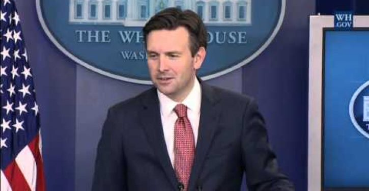 White House spokesman can't name a mass shooting that would be prevented by new gun regs