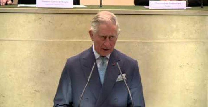 Prince Charles sounds a unique alarm during Paris climate summit