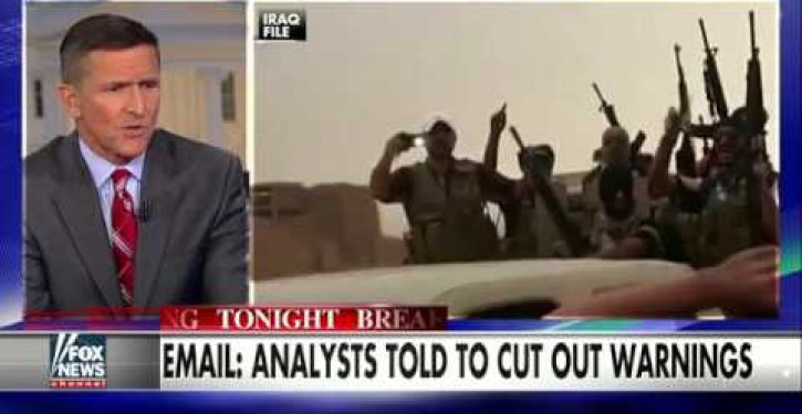 Former DIA director: Probe of intel-cooking should start 'right at the top'