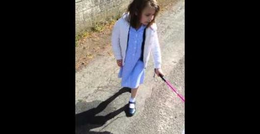 Zero tolerance watch: Blind 7-year-old banned from bringing cane to school by Howard Portnoy