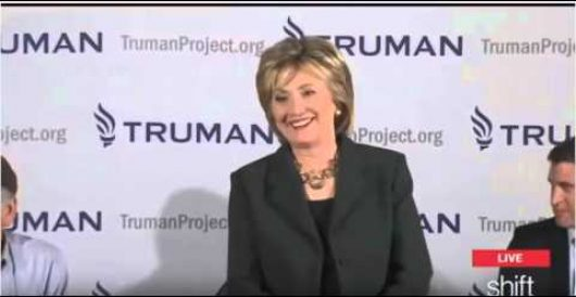 Hillary yuks it up with supporter who says he wants to 'strangle' Carly Fiorina by Rusty Weiss