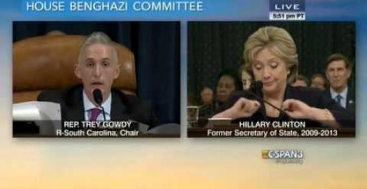 State Dept. refutes claim Hillary made during congressional testimony by Jeff Dunetz