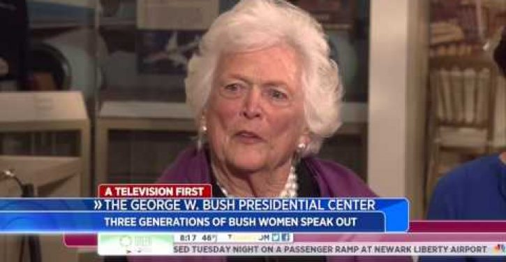 If only Jeb Bush had listened to his mother…