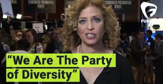 Watch DNC chair's priceless response to charge Dem candidates are too white by Howard Portnoy