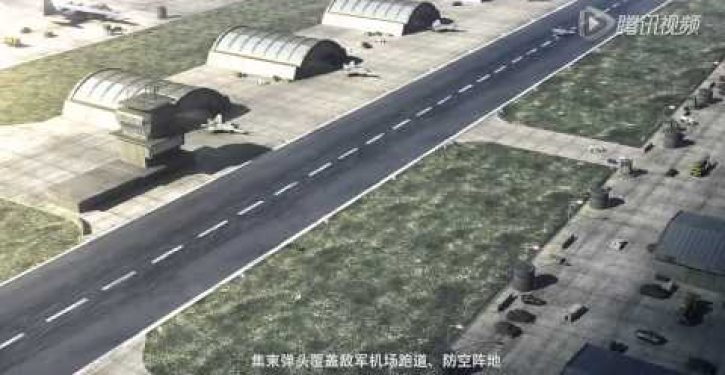 Raucous Chinese 'victory' video depicts attacks on U.S. Navy, Japan-like island