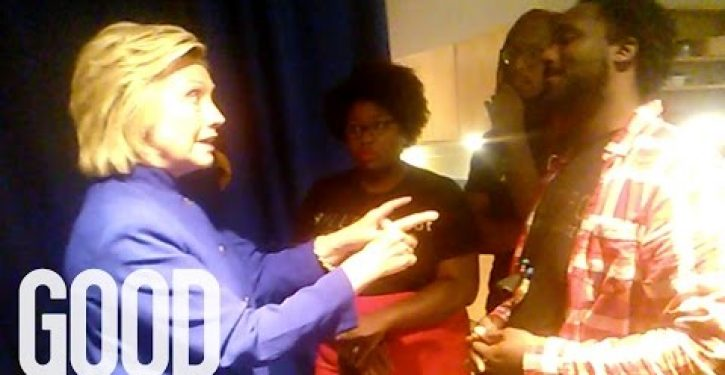 Hillary to BLM: What does difference does it make (if you feel victimized)?