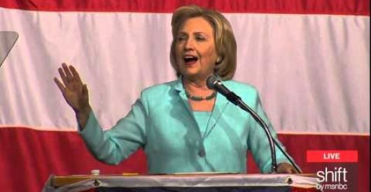 Hillary Clinton seeing the humor in her little email server snafu by Howard Portnoy