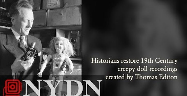 Video: Hear 'Edison doll' recordings from ca. 1890
