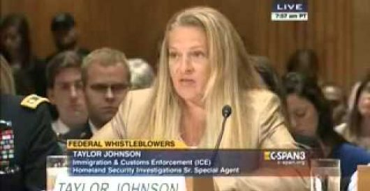 Corrupt mistreatment of federal whistleblowers, including threat to gun rights (Video) by J.E. Dyer