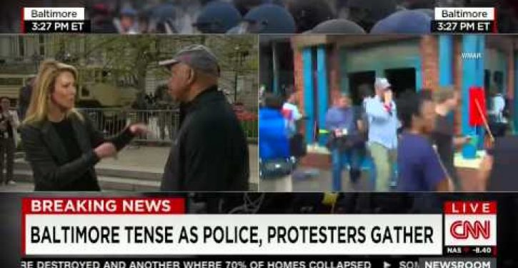 Unbelievable: CNN anchor blames veterans for Baltimore riots (Video)