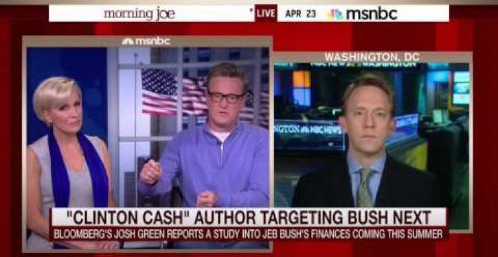 'Clinton Cash' author's next target is Jeb Bush (Video)
