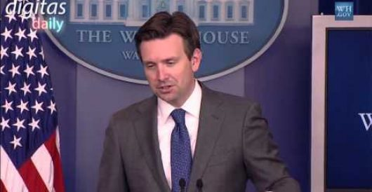Josh Earnest on whether Obama undermines #EarthDay message with Air Force One flight (Video) by Caleb Howe