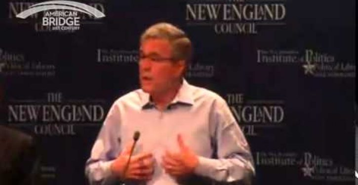 Did Jeb Bush just support a U.N. global warming treaty?