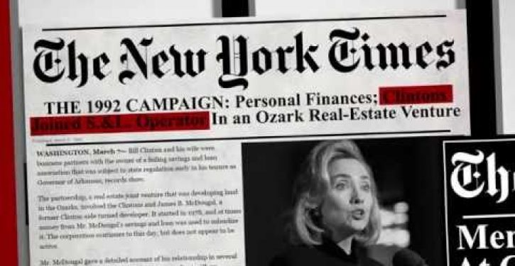 Stop Hillary PAC lunches new ad on her 'legacy' of corruption (Video)