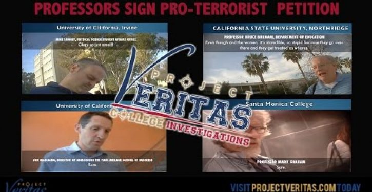 Another O'Keefe video shows California universities are hot beds for terrorism support (Video)