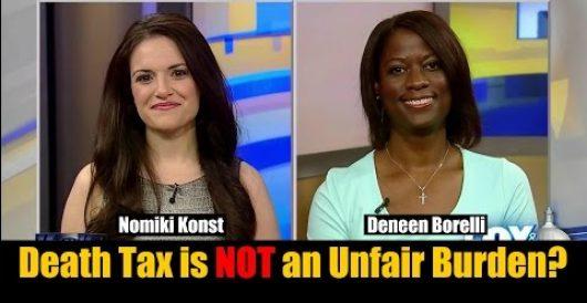 Video: Watch me debate the death tax on Fox & Friends by Deneen Borelli