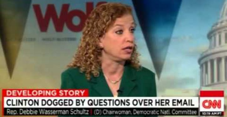 Video: Wasserman Schultz says Hillary 'most admired woman In America'