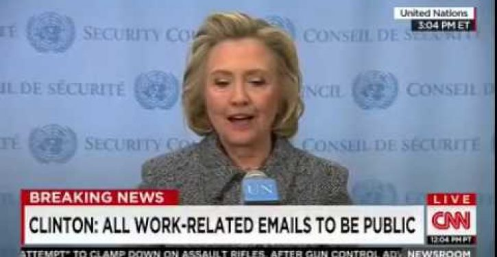 Hillary Clinton to break her silence on Emailgate *UPDATE: Nothing to see here (Video)*