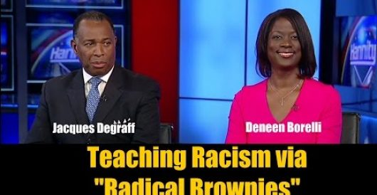Are black children being brainwashed against whites? Watch me debate this question on 'Hannity' (Video) by Deneen Borelli