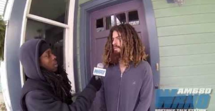Rich white #BlackLivesMatter protester who caused traffic snarl says media harassed him (Video)