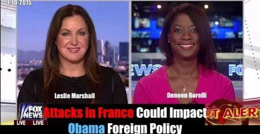 Watch me on FNC debating how terrorist attacks in Paris impact U.S. policy by Deneen Borelli