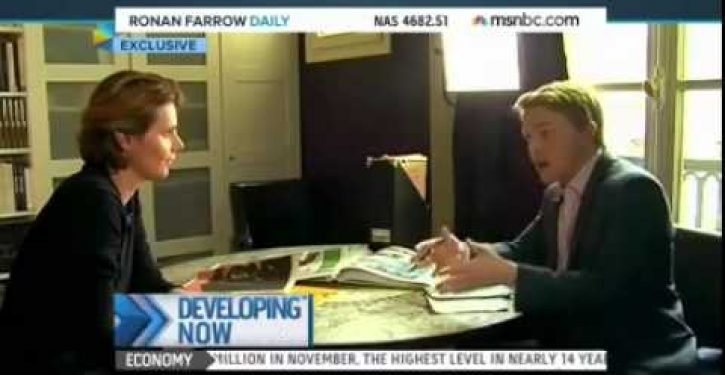 MSNBC's decision to blur 'Charlie' cover saddens guest, dispirits host's mother (Video) *UPDATE*