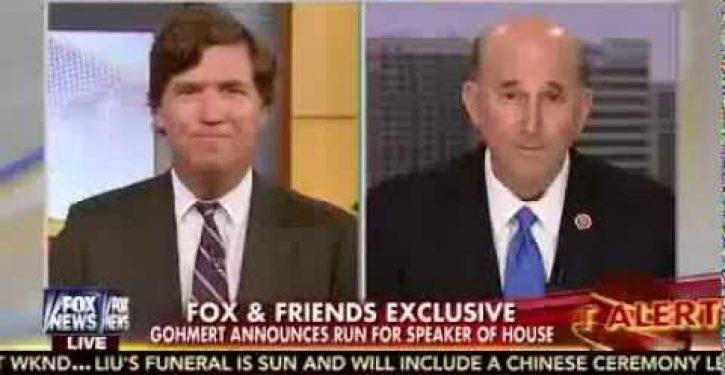 Rep. Louie Gohmert challenging John Boehner as House Speaker (Video)