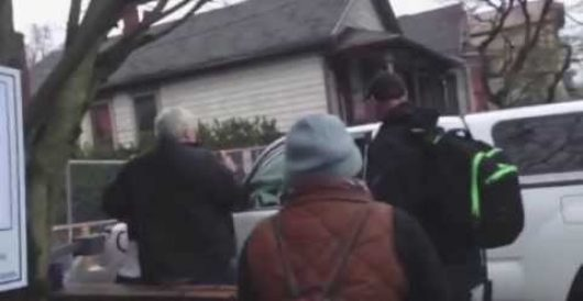 Anti-police protesters hassle 'racist cop'; just one small problem… (Video) by Howard Portnoy