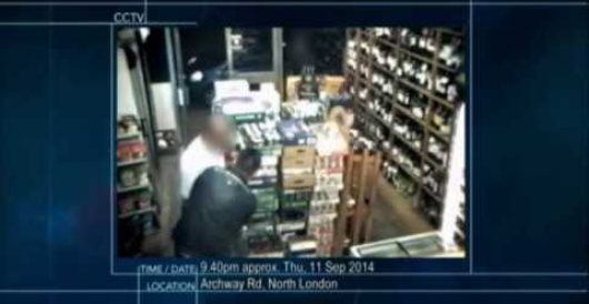 Video: London robber hypnotizes shop owner, steals wallet and cash by J.E. Dyer