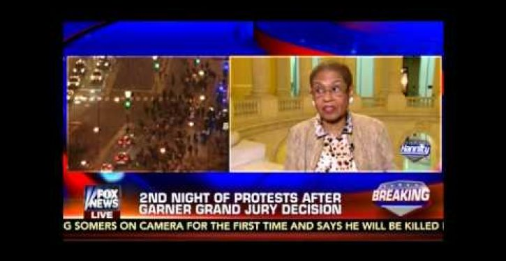 Black U.S. rep. prefers to ignore evidence in Michael Brown case in favor of 'big picture' (Video)