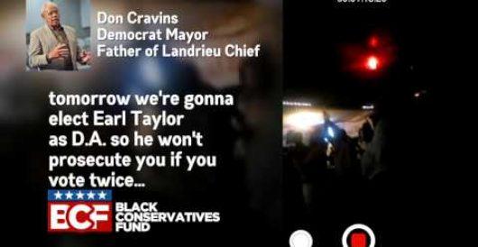 Shock video: Opelousas, La. mayor, Dem Party leader, calls on Louisianans to vote for Landrieu TWICE by Jeff Dunetz