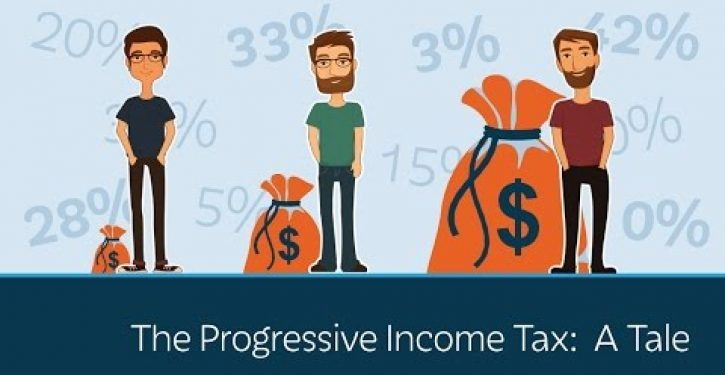 Video: Prager U presents 'Progressive Income Tax,' a bedtime story