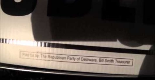 Husband of Dem senator caught stealing GOP campaign signs (Video) by Michael Dorstewitz