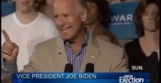 Flashback: Biden said if Romney elected, US will bomb Syria (Video) by Michael Dorstewitz