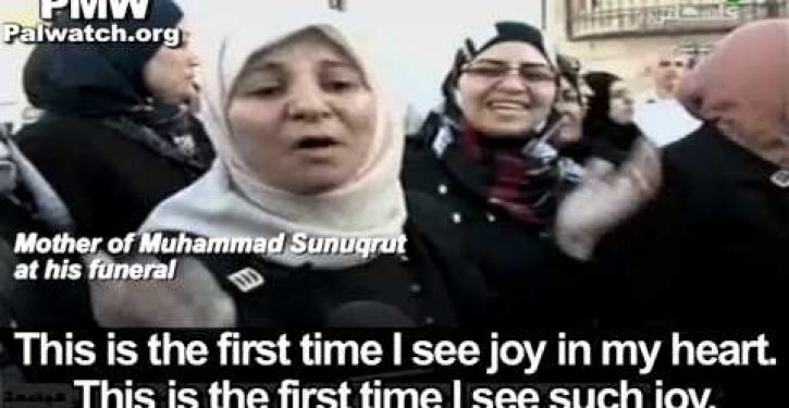 Video: Palestinian mother celebrates death of son killed in clash with Israel