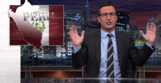 John Oliver: Peru should take the lead to defeat ISIS (Video) by Michael Dorstewitz