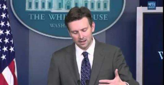 WH spox Josh Earnest dodges question about Foley family intimidation (Video) by Renee Nal