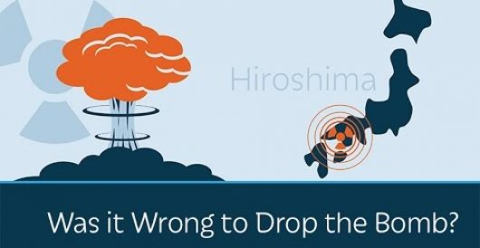 Prager U: Was it wrong to drop the atom bomb on Japan? by David Weinberger