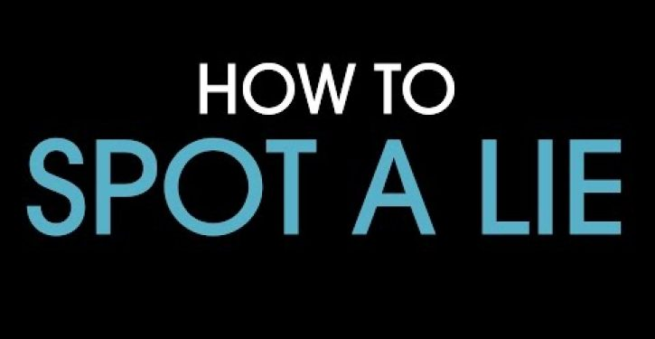 Video: How to spot a lie