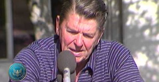 Happy Labor Day: Reagan's Labor Day address 1982 (Video) by LU Staff