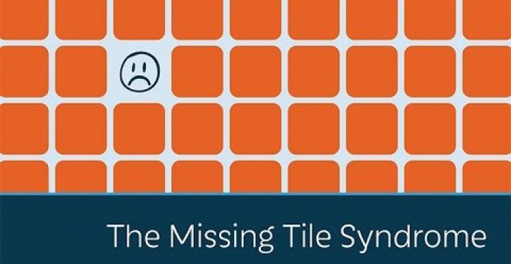 Video: Prager U explains the 'Missing Tile Syndrome'
